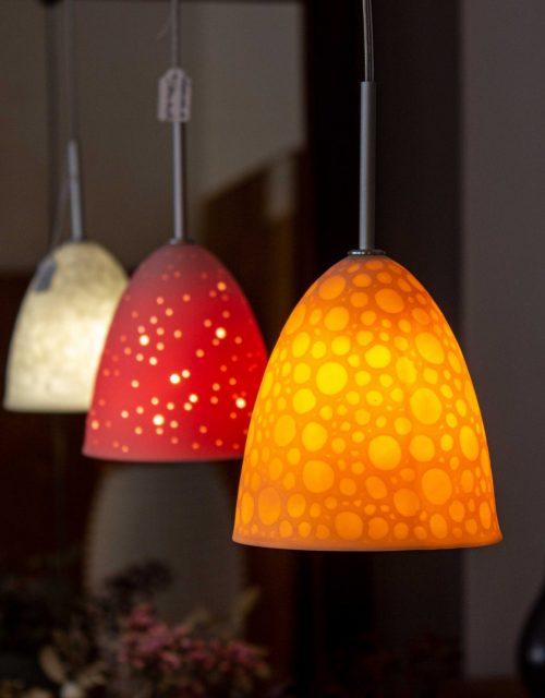 Porzellanlampe (handgefertigt in Deutschland)