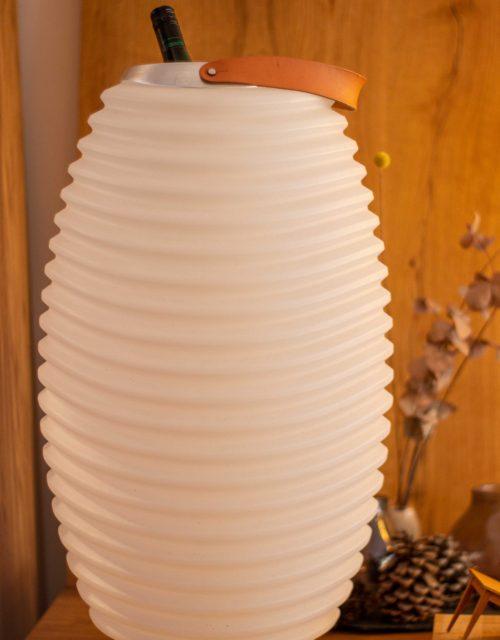 Kooduu Lampe mit Weinkühlung und Bluetooth Box